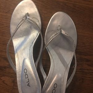 Aldo diver shoes with Rhinestones Size 8